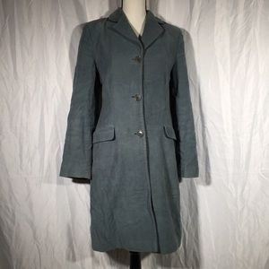 Vintage Boden Green Single Breasted Pea Coat 🦖
